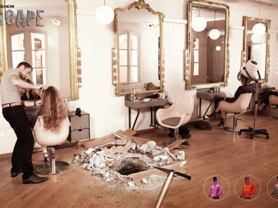 Eider Print Ad -  Hair