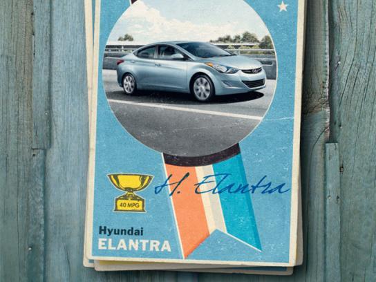 Hyundai Print Ad -  Elantra Card