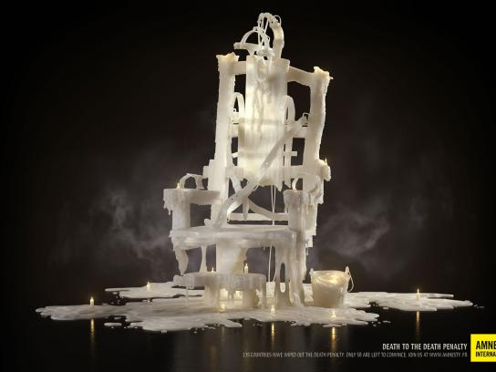 Amnesty International Print Ad -  Electric Chair