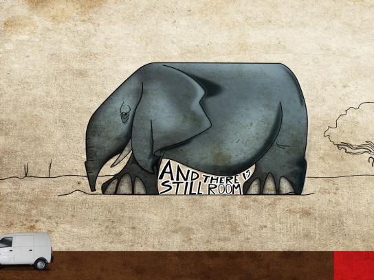 DFM Print Ad -  Elephant