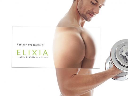 Elixia Vitalclub Print Ad -  Partner Programs