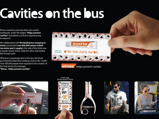 Elmex Direct Ad -  Bus Ticket