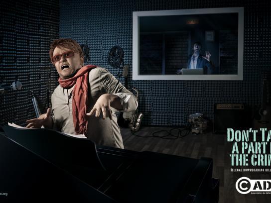 ADDA Print Ad -  Elton