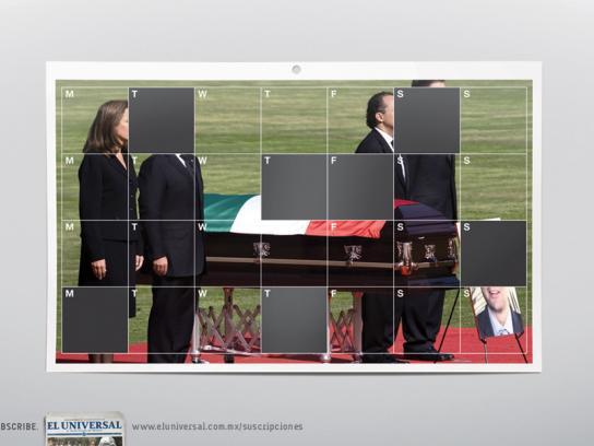 El Universal Print Ad -  Funeral