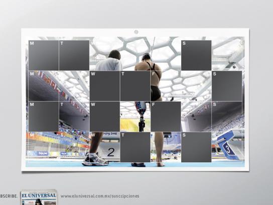 El Universal Print Ad -  Para olympics