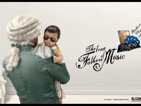 El Comercio Print Ad -  Elvis
