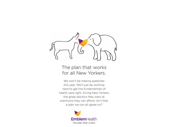 EmblemHealth Print Ad -  Animals