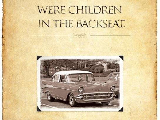 Emirates Classic Car Festival Print Ad -  Children