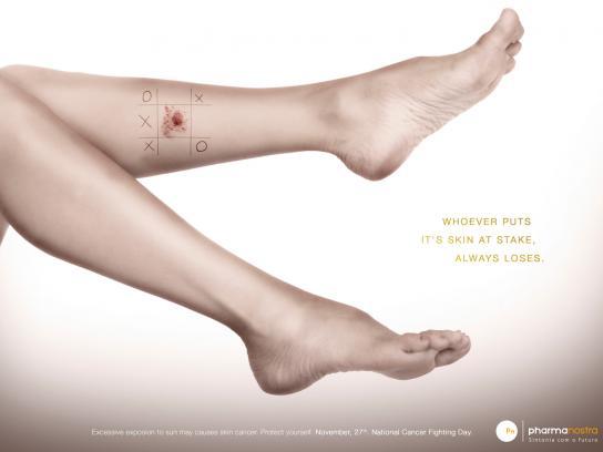 Pharma Nostra Print Ad -  Legs