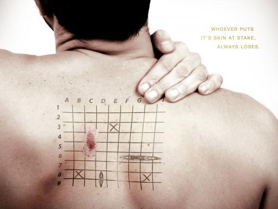 Pharma Nostra Print Ad -  Back