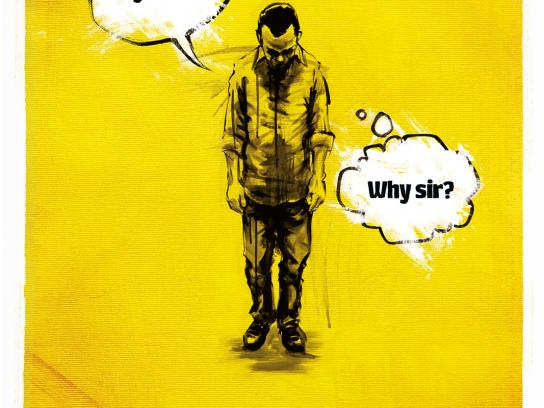 Amnesty International Print Ad -  Employee