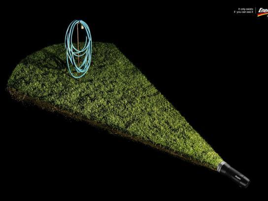Energizer Print Ad -  Hose