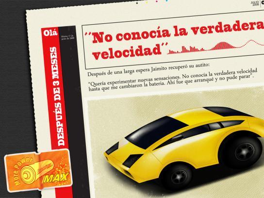 Energizer Print Ad -  Car