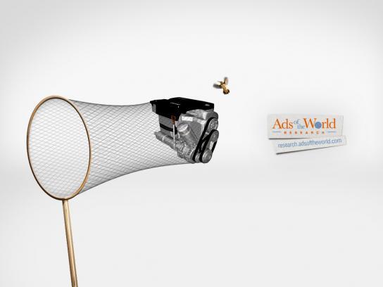 Ads of the World Print Ad -  Engine