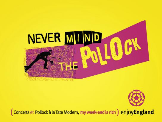 Enjoy England Print Ad -  Pollock