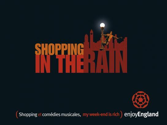 Enjoy England Print Ad -  Rain