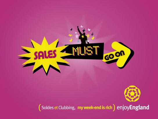 Enjoy England Print Ad -  Sales
