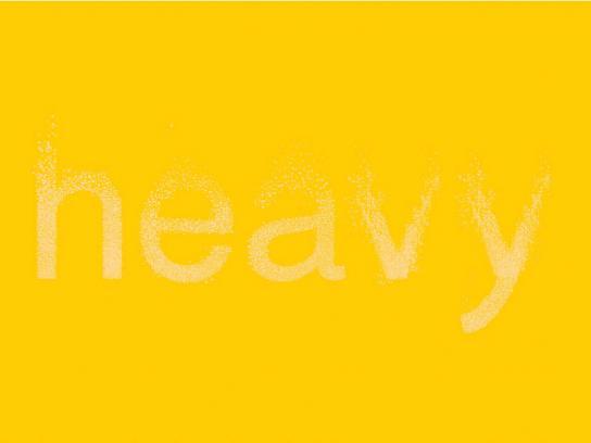 Eno Print Ad -  Heavy