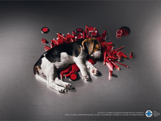 ENPA Print Ad -  Puppy