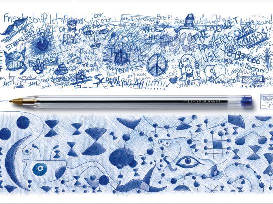 Panamericana School of Art and Design Print Ad -  Pen