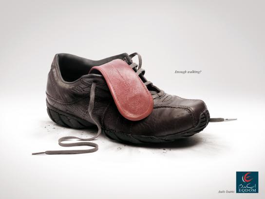 Eqdom Print Ad -  Shoe