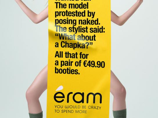 Eram Print Ad -  Shooting, Fur