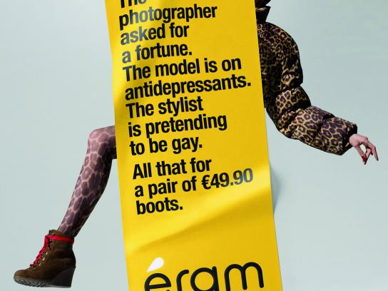Eram Print Ad -  Shooting, Gay