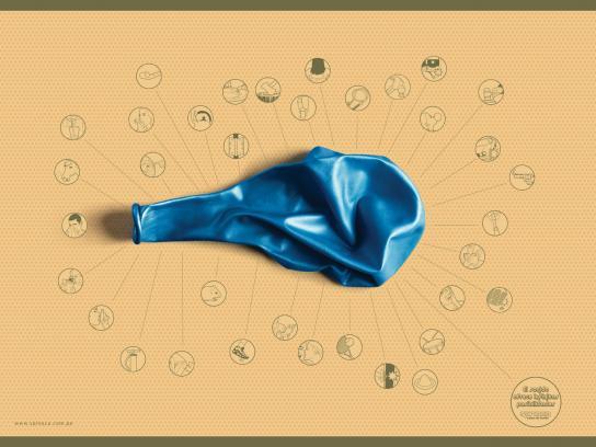 Spinaca Print Ad -  Balloon