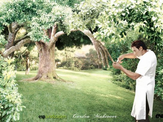 ESP Landscapers Print Ad -  Manicure