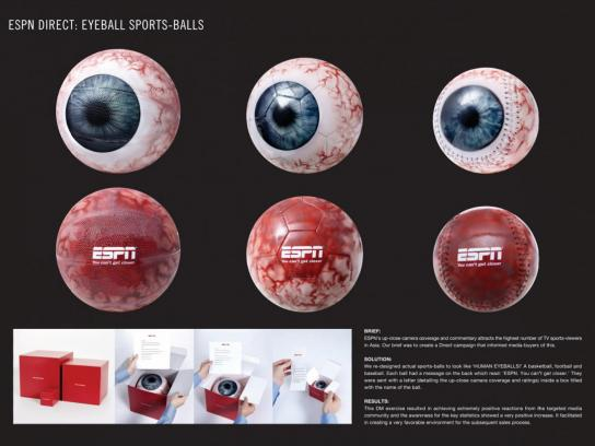 ESPN Direct Ad -  Eyeballs