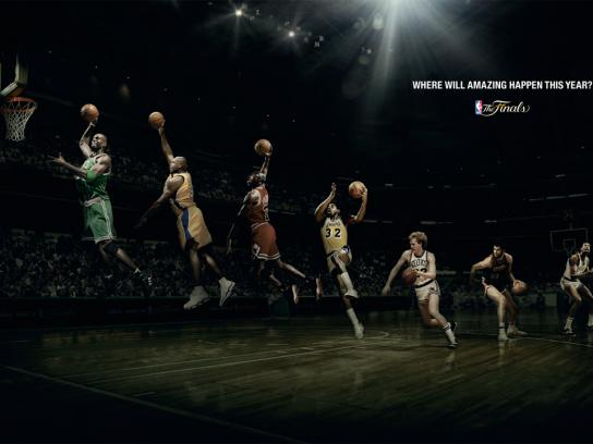 NBA Print Ad -  The Finals