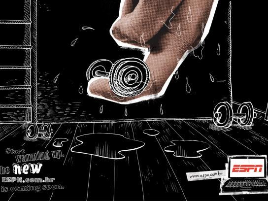 ESPN Print Ad -  Finger, 2