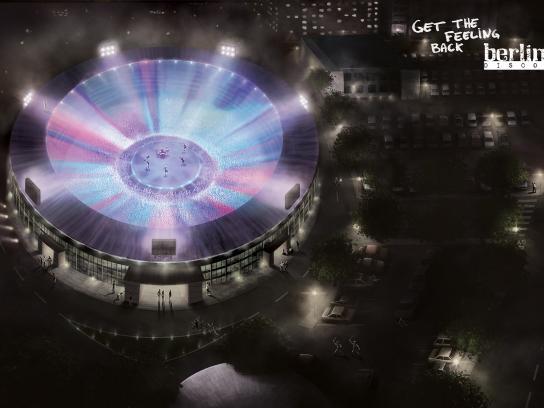 Berlin Discos Print Ad -  Stadium