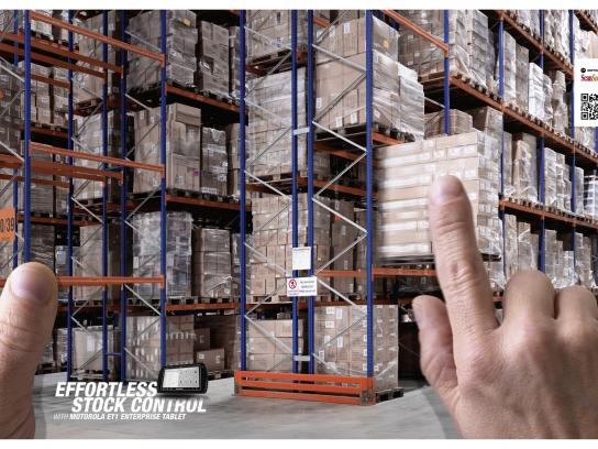 Motorola Print Ad -  Warehouse