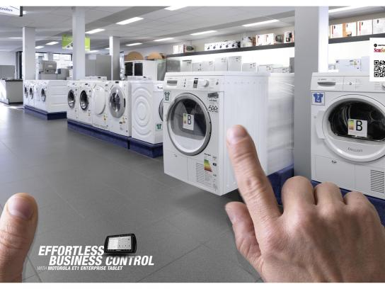 Motorola Print Ad -  Washing Machine