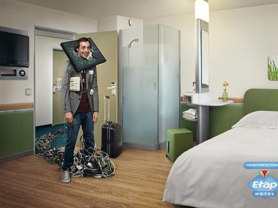 Etap Hotel Print Ad -  Bad Day, Screen