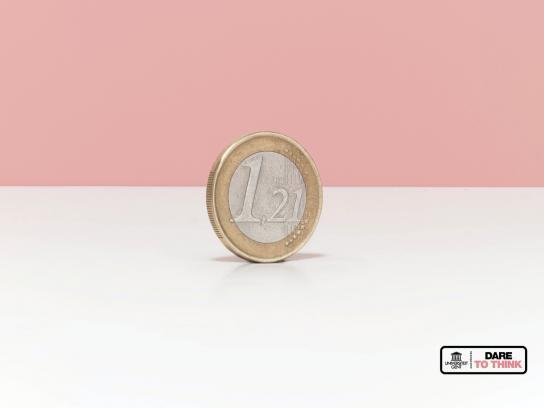 University of Gent Print Ad -  Euro