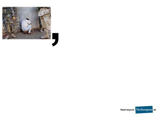 The European Print Ad -  Comma, 1