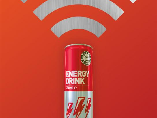 Euro Shopper Print Ad -  Use the energy, WiFi