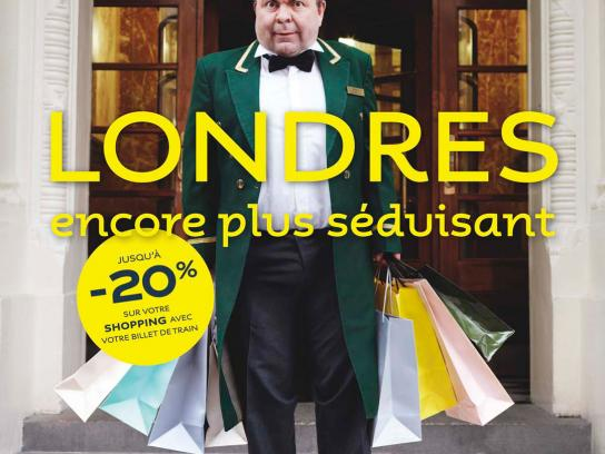 Eurostar Print Ad -  Still tempting, Shopping