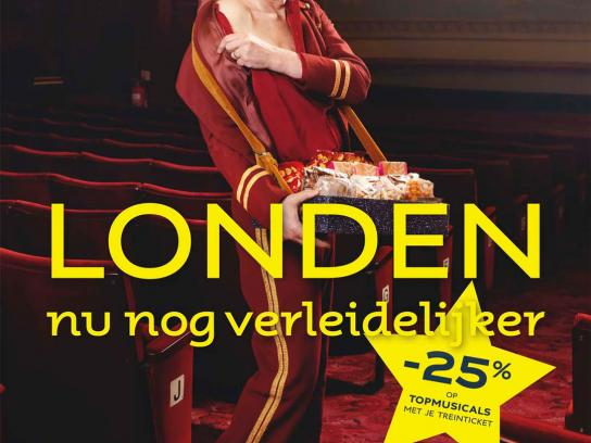 Eurostar Print Ad -  Still tempting, Theatre