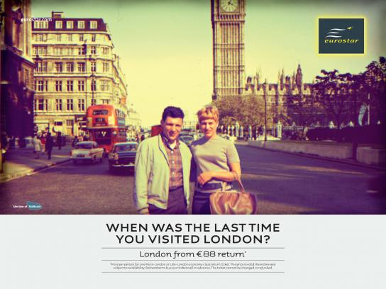 Eurostar Print Ad -  When Was the Last Time...?, 1