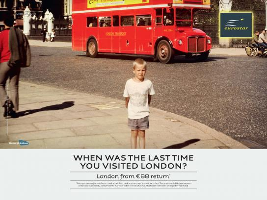 Eurostar Print Ad -  When Was the Last Time...?, 4