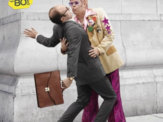 Eurostar Print Ad -  Elton