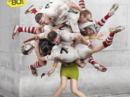 Eurostar Print Ad -  Rugby