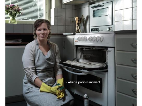 Cancerfonden Print Ad -  Eva
