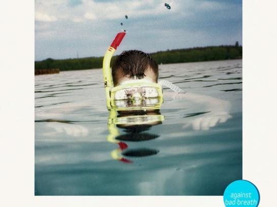 Even Print Ad -  Scuba diver