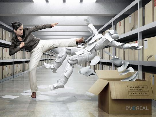 Everial Print Ad -  Controlled archives