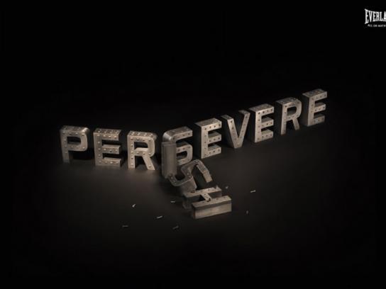 Everlast Print Ad -  Persevere