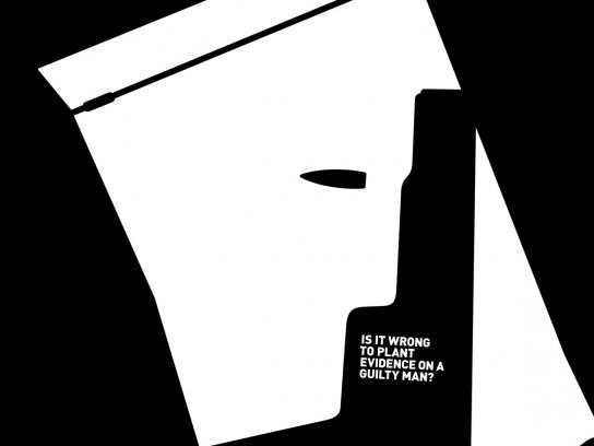 Injuctice Print Ad -  Evidence bag